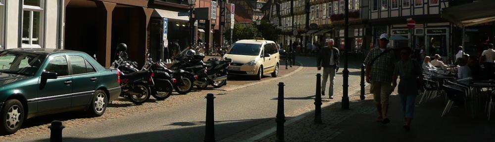 Motorradparkplätze
